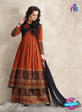 Amara 9079 Orange Georgette Pakistani Suit