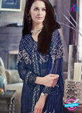 NS11088 Dark Blue Party Wear Georgette Designer Suit Online
