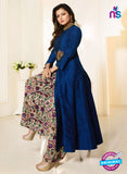 LT 91004 Blue Chanderi Silk Exclusive Function Wear Designer Suit