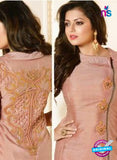 LT 91009 Pink Silk Exclusive Function Wear Designer Gawn