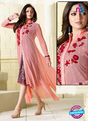 LT 910 Pink Indo Western Tunic