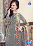 SC 13312 Gray Embroidered  Georgette Designer Suit Online