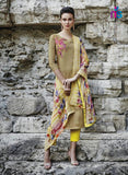 Bahni 9120 Yellow Color Cotton Designer Suit