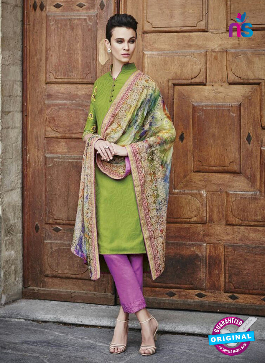 Bahni 9129 Green Color Cotton Designer Suit