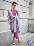 Bahni 9131 Pink & Grey Color Cotton Designer Suit