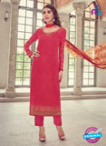 Bahni 9139 Pink Color Glace Cotton Plazo Suit