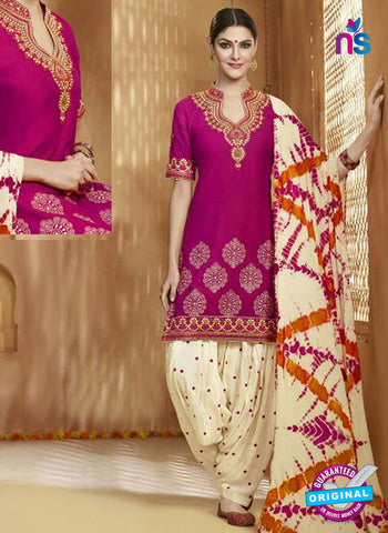 Kessi 9153 Magenta Cotton Patiala Suit