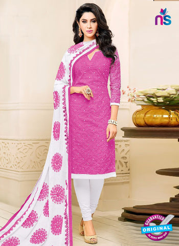 SC 42215 Magenta Formal Cotton Suit