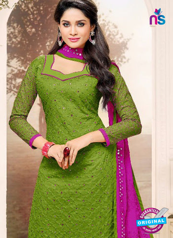 SC 42223 Green Formal Cotton Suit