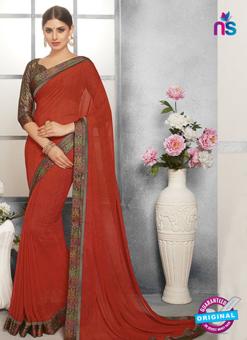 Life Style 9264 Red Formal Saree
