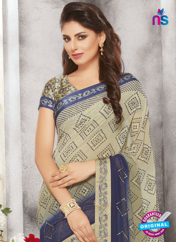 Life Style 9271 Beige Formal Saree