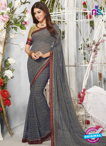 Life Style 9274 Blue Formal Saree
