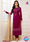 LT 94005 Purple Georgette Party Wear Suit