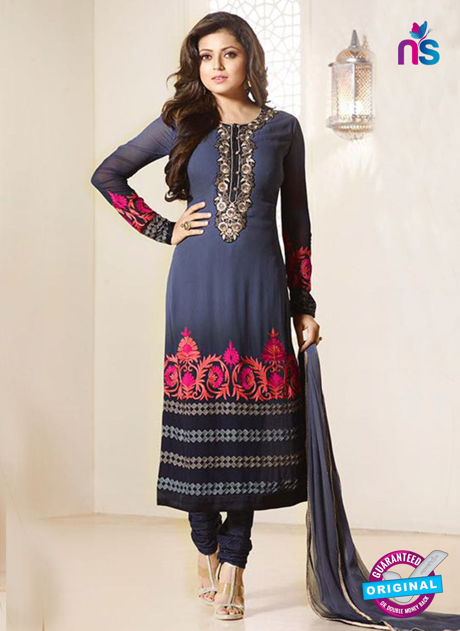 LT 94007 Blue Georgette Party Wear Suit