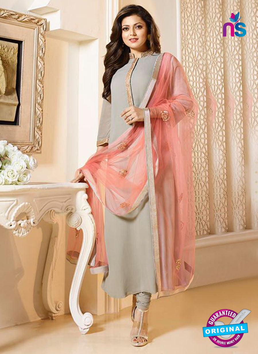 LT 94008 Grey Georgette Party Wear Suit
