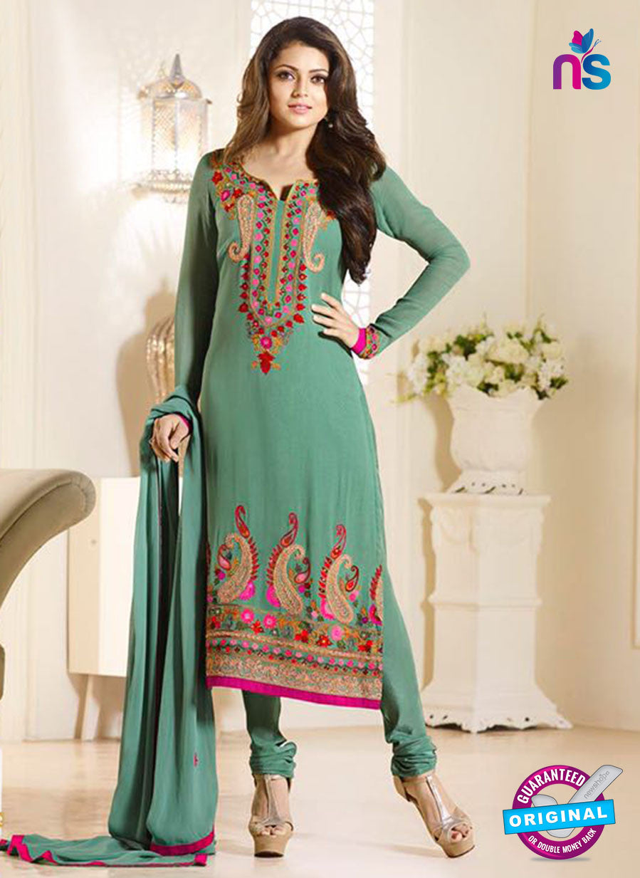 LT 94009 Green Georgette Party Wear Suit
