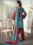 NS11681 Red Color Satin Cotton Designer Suit