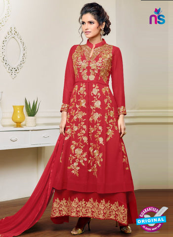 MF 96003 Red Indo Western Suit
