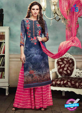 Kessi 9654 Blue Designer Plazo Suit