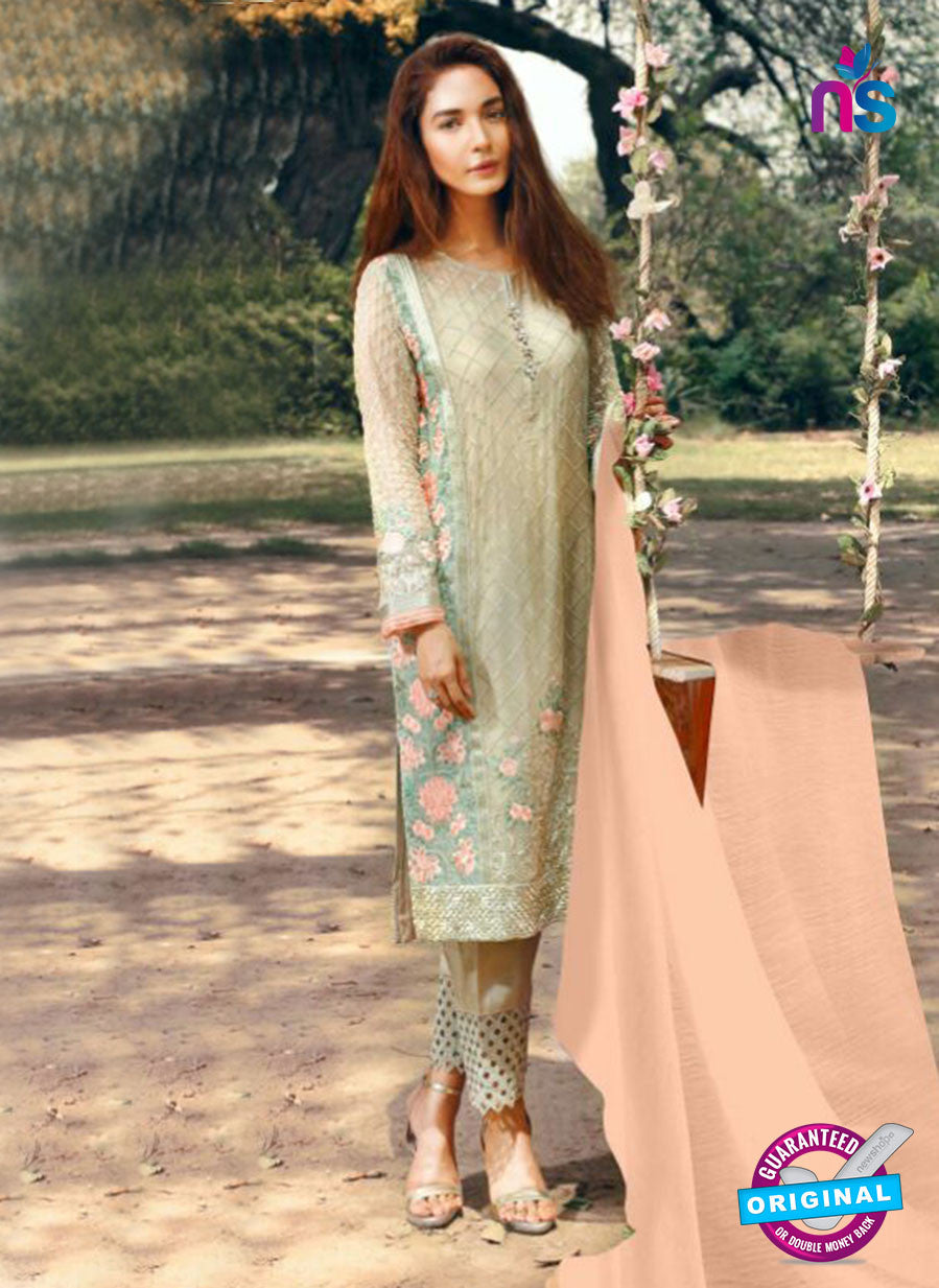 SC 14058 Beige Faux Georgeette Function Wear Pakistani Suit