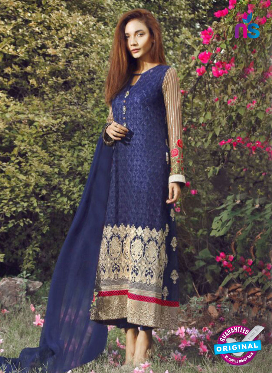 SC 14059 Blue Faux Georgette Function Wear Pakistani Suit