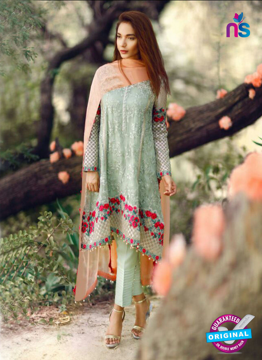 SC 14062 Green Faux Georgette Function Wear Pakistani Suit
