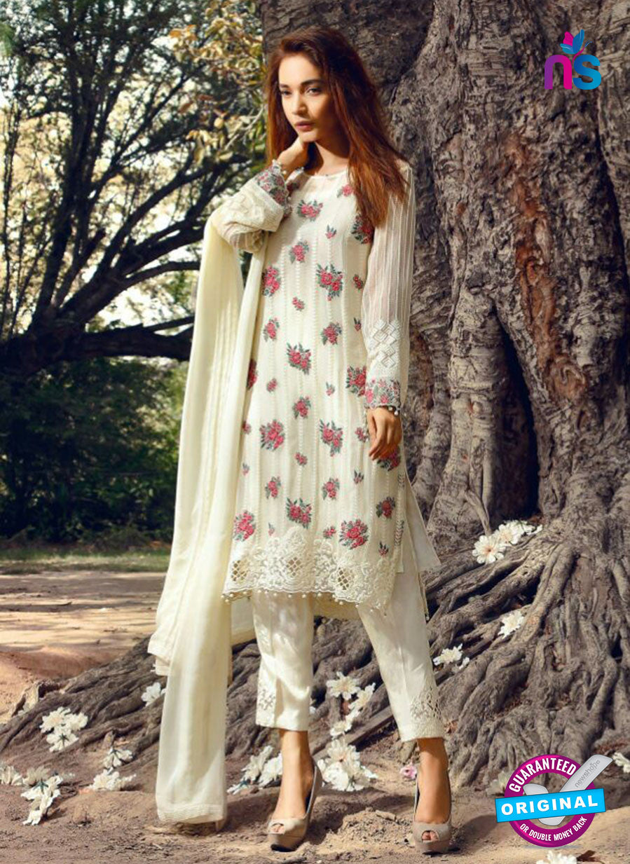 SC 14063 Beige Faux Georgette Function Wear Pakistani Suit