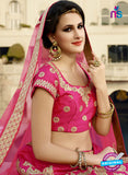 AZ 2133 Pink Silk Party Wear Lehenga - Lehengas - NEW SHOP
