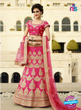 AZ 2133 Pink Silk Party Wear Lehenga