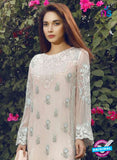 SC 14057 Beige Faux Georgette Function Wear Pakistani Suit