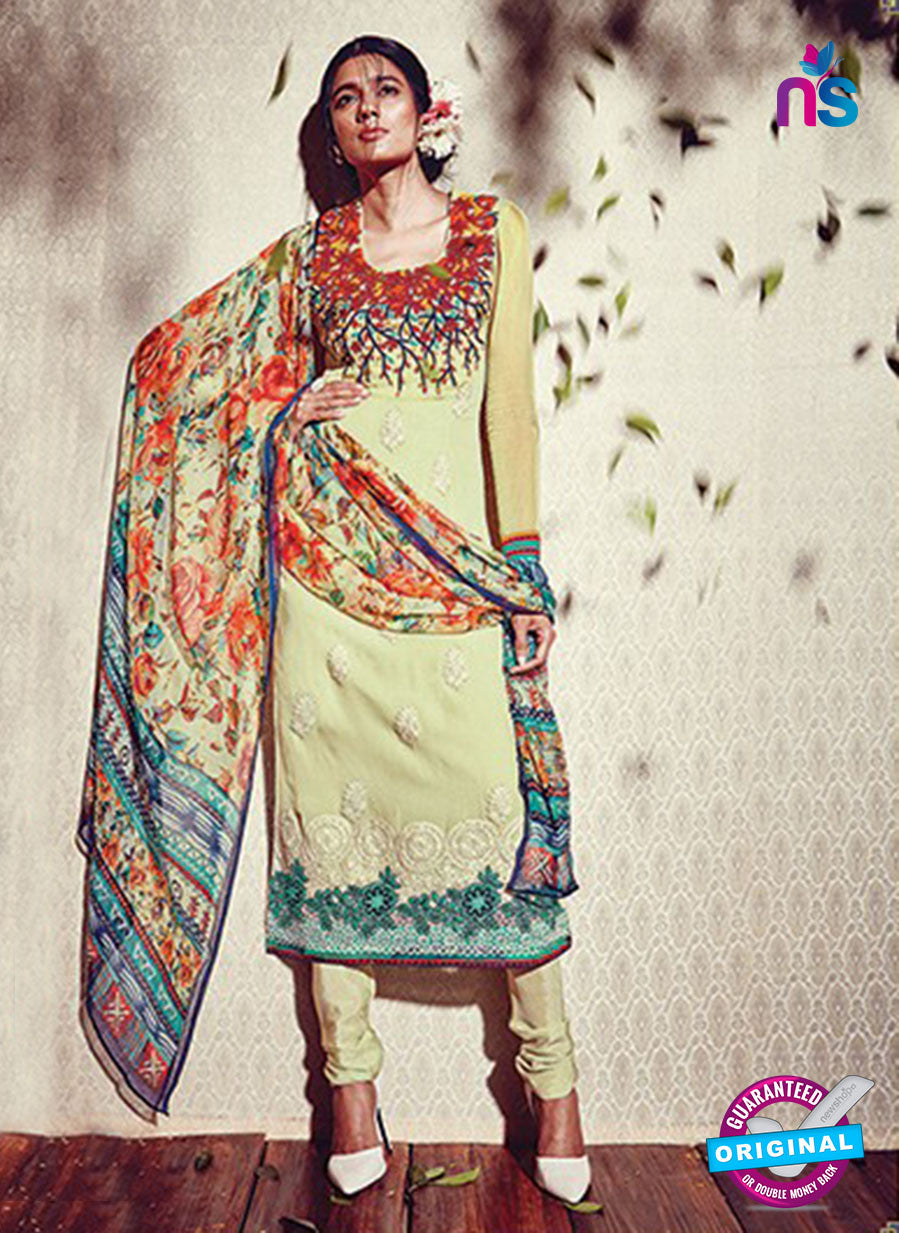 Heer 5908 Green Color Georgette Designer Suit