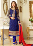 Lavina 13302  Blue Color Chiffon Designer Suit