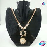 112 Exclusive Fashion Crystal Pendant Necklace