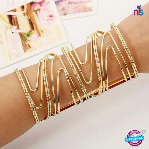 118 Exclusive Fashion Bracelet in Gold Color