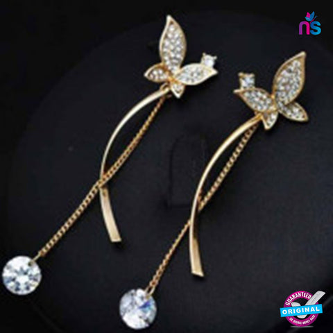 129 Exclusive Fashion Butterfly Earrings