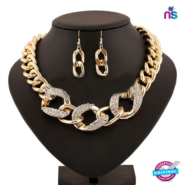 133 Exclusive Fashion Collar Statement Necklace Set