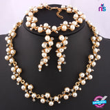 135 Exclusive Fashion Pearl jewellery Set