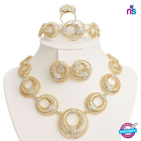 149 Exclusive Fashion Gold Plated Jewellery Set