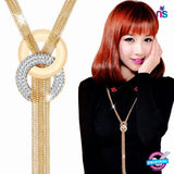 151 Exclusive Long Gold Tassel Necklace - Jewellery - NEW SHOP