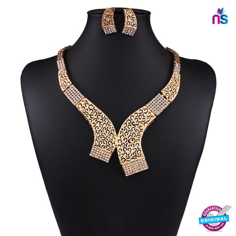 181 Exclusive fashion Jewellery Set Including Necklace with Earrings