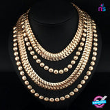 184 Exclusive Fashion Metal Chain Jewellery Necklace