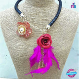 Buy 190 Exclusive Fashion Flower Jewellery Necklace Online