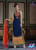 Arihant 7008 Blue Faux Georgette Party Wear Suit