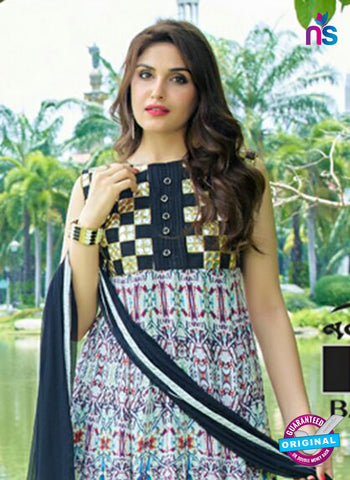 SC 14305 Multicolor Lawn Cotton Indo Western Suit