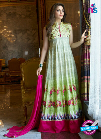 SC 14304 Green Lawn Cotton Indo Western Suit Online