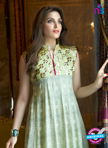 SC 14304 Green Lawn Cotton Indo Western Suit