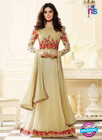 Sheesha J-180 Beige Anarkali Suit
