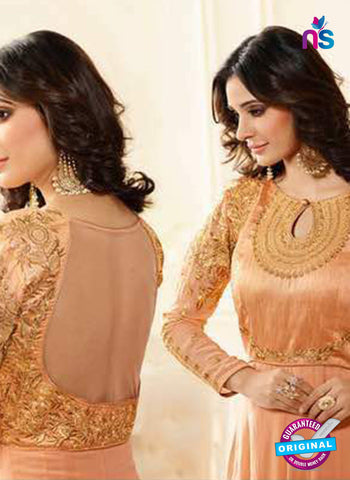 Sheesha J-183 Peach Anarkali Suit