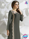 SC 13960 Grey Exclusive Rayon Cotton Designer Kurti