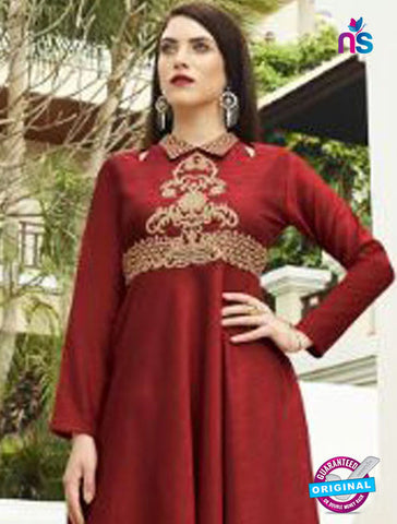 Eternal 357 Maroon Designer Party Wear Tunic